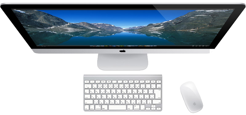 iMacに決めた!